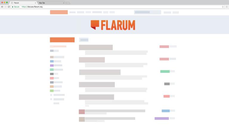 虛擬網空上架設Flarum論壇 - 一鍵安裝無需SSH
